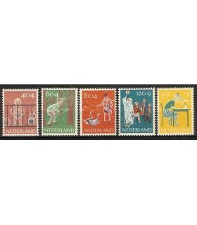 731 - 735 Kinderzegels (x)
