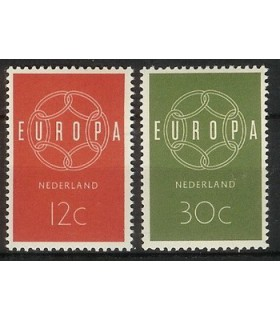727 - 728 Europa-zegels (xx)