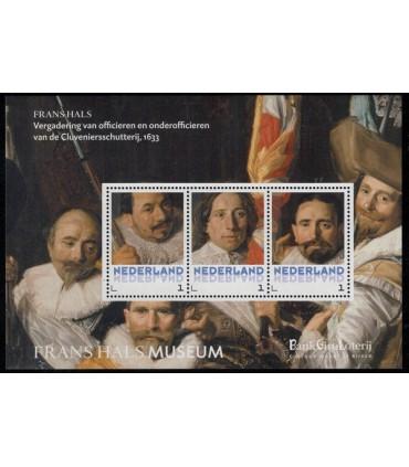 3012 B-3 Frans Hals vergaderin (xx)