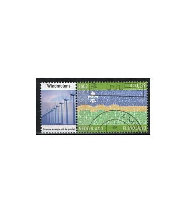 2076 Provinciezegel TAB (o) windmolens links
