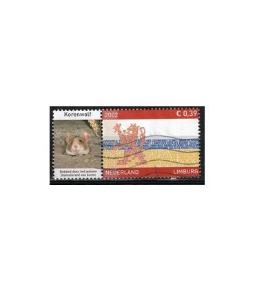 2073 Provinciezegel TAB (o) Korenwolf