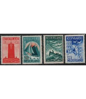 257 - 260 Zeemanszegels (xx)