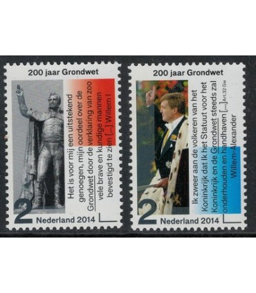 3171 -3172 Grondwet Koning Willem I (xx)