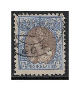 067b Koningin Wilhelmina (o)