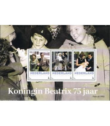 3012 D6 Koningin Beatrix 75 jaar (xx)
