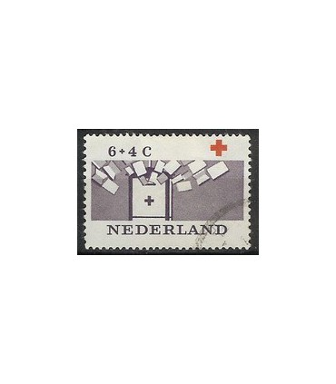796 Rode Kruiszegel (o)