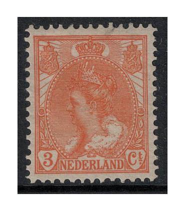056 Koningin Wilhelmina (x)
