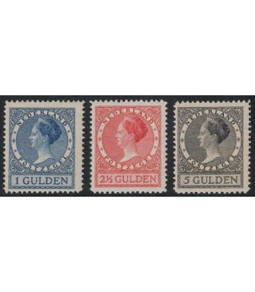 163 - 165 Koningin Wilhelmina (xx)