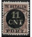 Postpakketverrekenzegel 1 (o) C-lijntanding