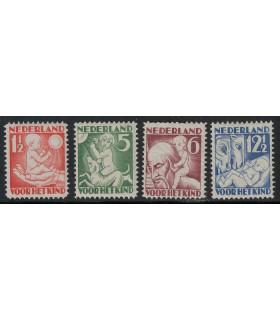 232 - 235 Kinderzegels lees! (xx)