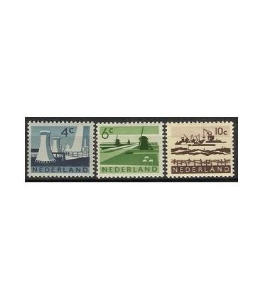 792 - 794 Landschapzegels (xx)