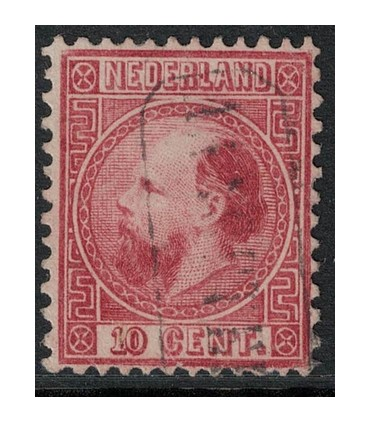 008 Koning Willem III (o)