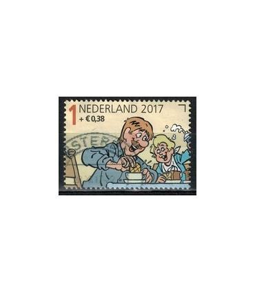 2017 Kinderzegel (o)