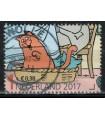 3586f Kinderzegel (o)