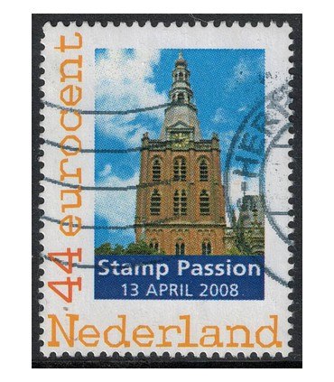 2562 C5 Stamp Passion 13 april (o)
