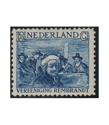 231 Rembrandt zegel LEES! (xx)