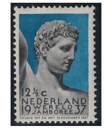 295 Jamboree-zegel (xx)