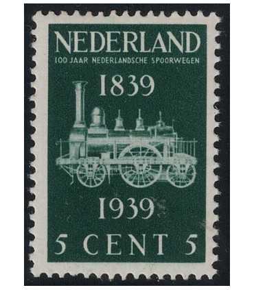 325 Spoorwegzegel (xx)
