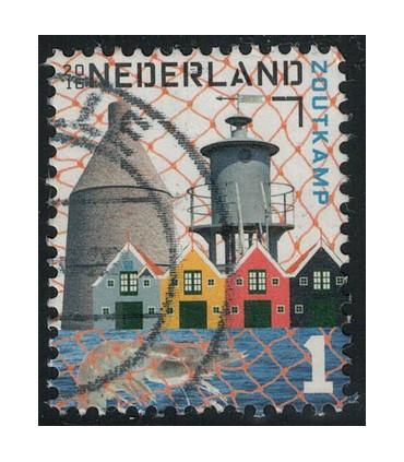 3387a Mooi Nederland Zoutkamp (o)