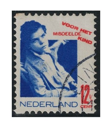 R93 Kinderzegel (o)