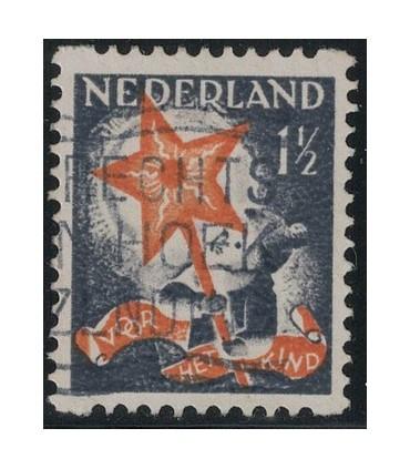 R98 Kinderzegel (o)