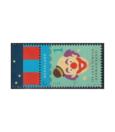 2870 Circus Renz clown (o) TAB