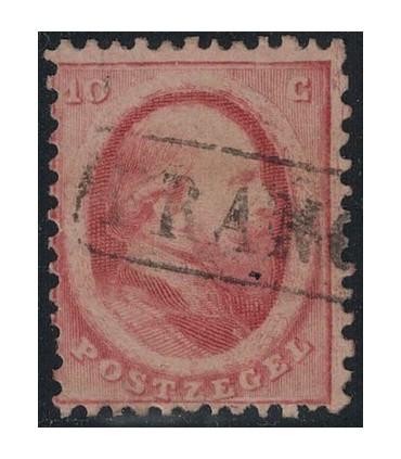 005 Koning Willem III (o) Haarlemse druk