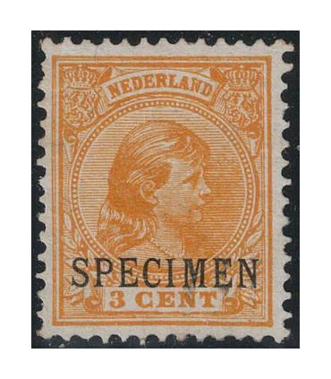 034 Prinses Wilhelmina (x) Specimen lees!