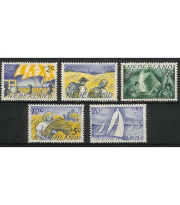 513 - 517 Zomerzegels (x)