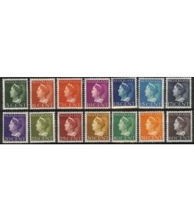 332 - 345 Koningin Wilhelmina (x)