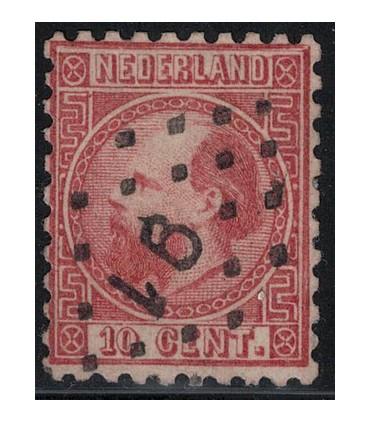 copy of 007 Koning Willem III (o) puntstempel 120