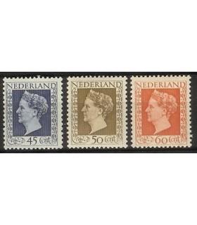 487 - 489 Koningin Wilhelmina (x)