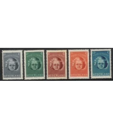444 - 448 Kinderzegels (xx)