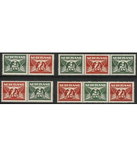 379a - 379d Vliegende Duif (x)