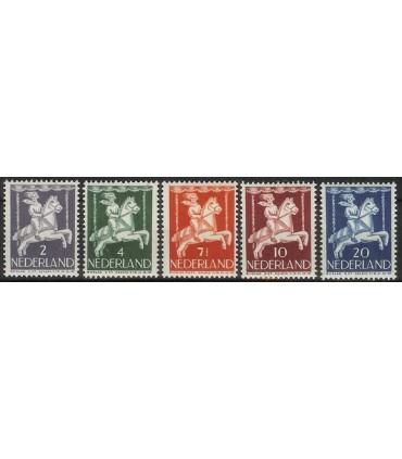 469 - 473 Kinderzegels (xx)