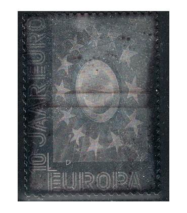 2878 Zilveren 10 jaar europa (xx)