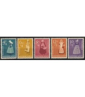 707 - 711 Zomerzegels (xx)