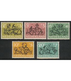 596 - 600 Kinderzegels (xx)