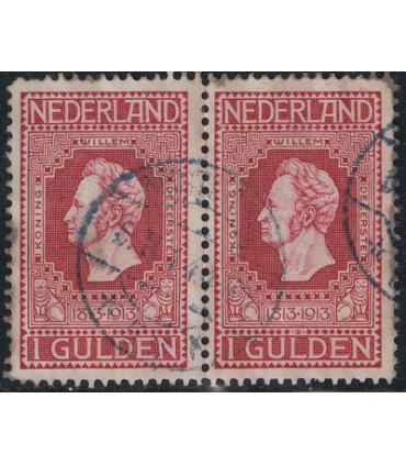 098 Jubileumzegel (o) dubbel