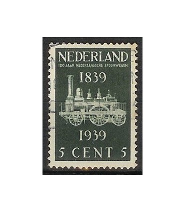 325 Spoorwegzegels (o)