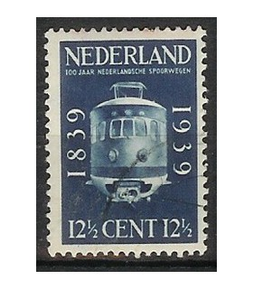 326 Spoorwegzegels (o)
