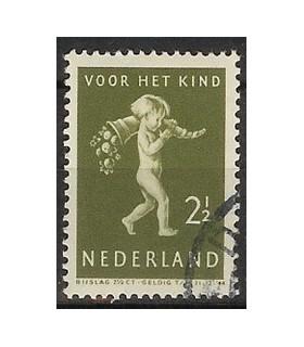 328 Kinderzegel (o)