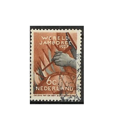294 Jamboree zegel (o)