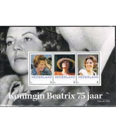 3012 D9 Koningin Beatrix 75 jaar (xx)