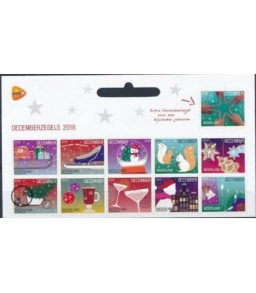3474 - 3484 Kerstzegels (xx) 1/2 vel