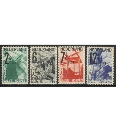 244 - 247 ANVV Zegels (x)