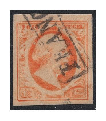 003 Koning Willem III (o) 8.