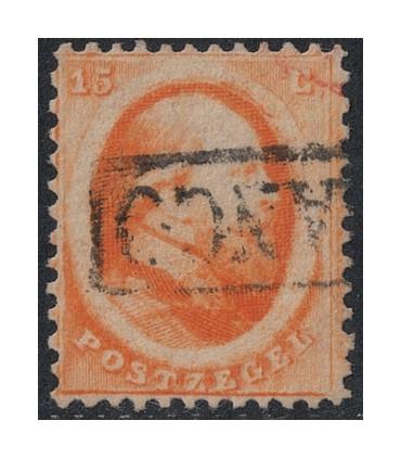 006 Koning Willem III (o) 5.