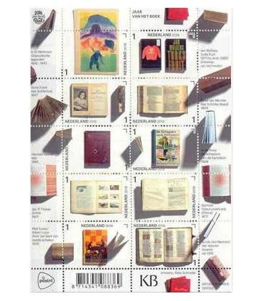 3452 - 3461 Jaar van het Boek (xx) vel