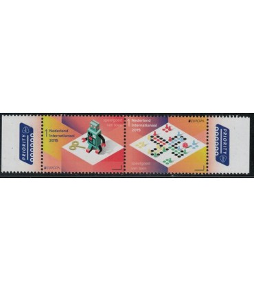 3285 - 3286a Europazegels (xx) TAB